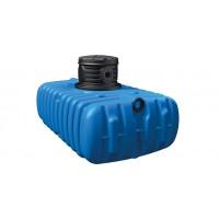 4 rain Abwassersammelgrube Flachtank 1500 Liter - 3000 Liter