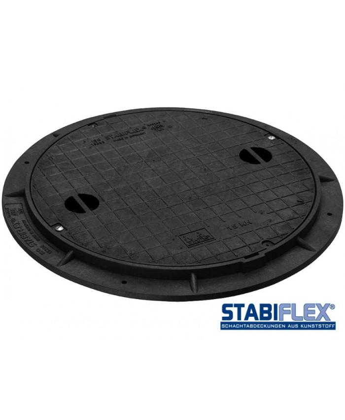 Abdeckung Stabiflex mit Flanschrahmen