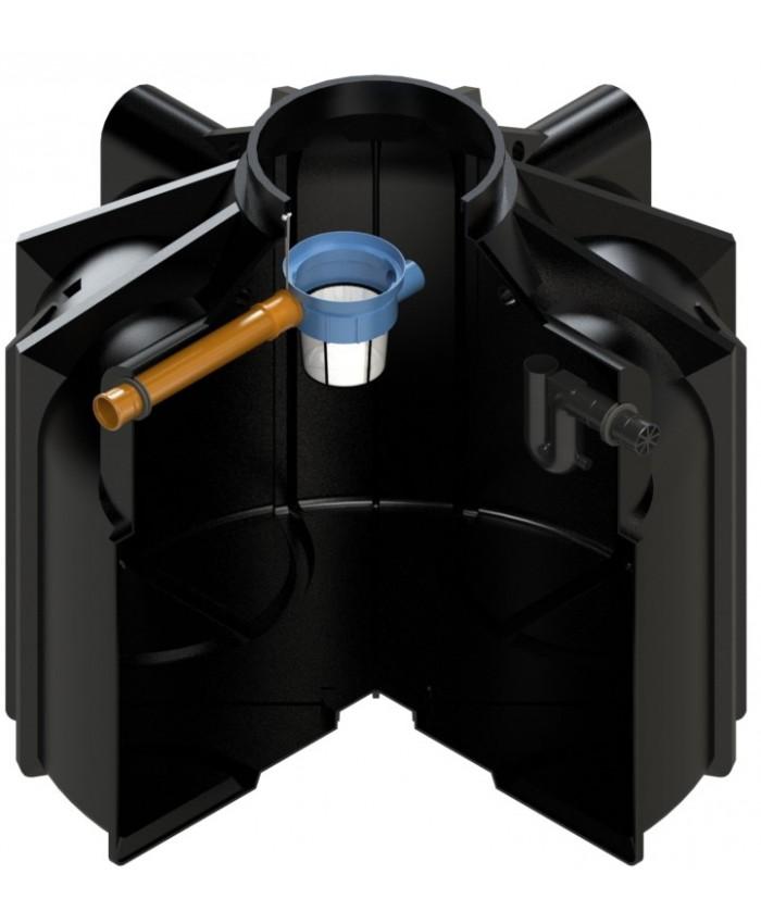 zisterne gigant 8300 liter mit korbfilter. Black Bedroom Furniture Sets. Home Design Ideas