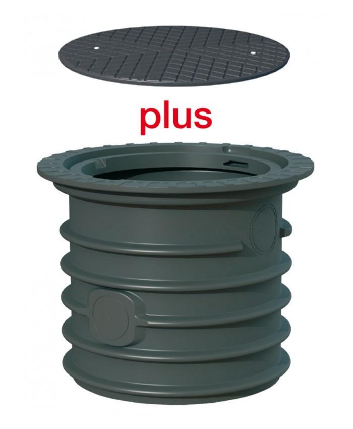 Schachtverlängerung 63 cm mit Deckel Spar-Set