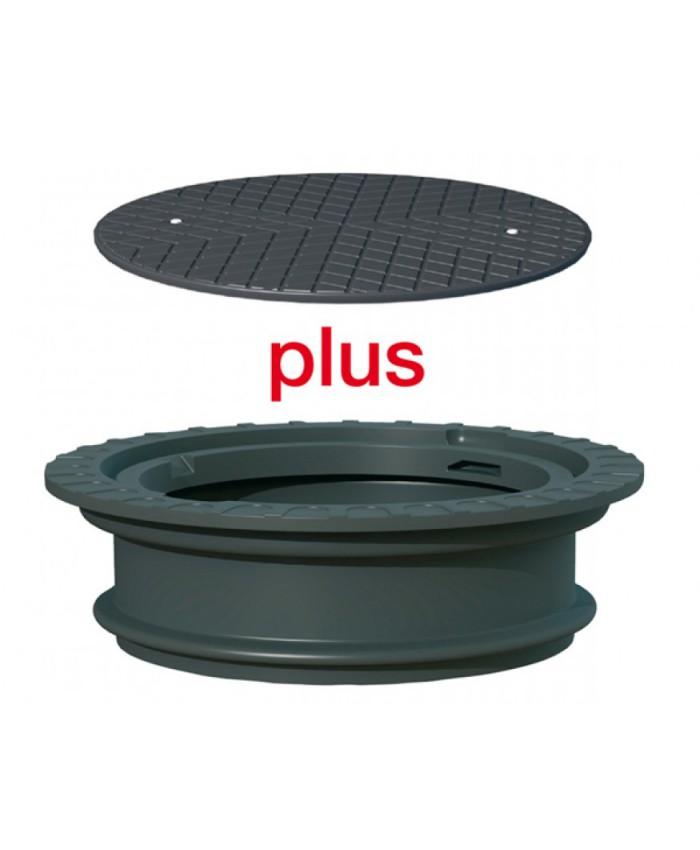 Schachtverlängerung 25cm mit Deckel Spar-Set