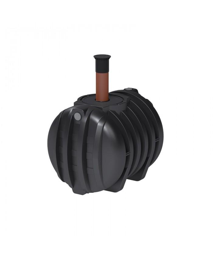 roth abwassertank 2000 liter mit dibt zulassung schacht dn 200 600. Black Bedroom Furniture Sets. Home Design Ideas