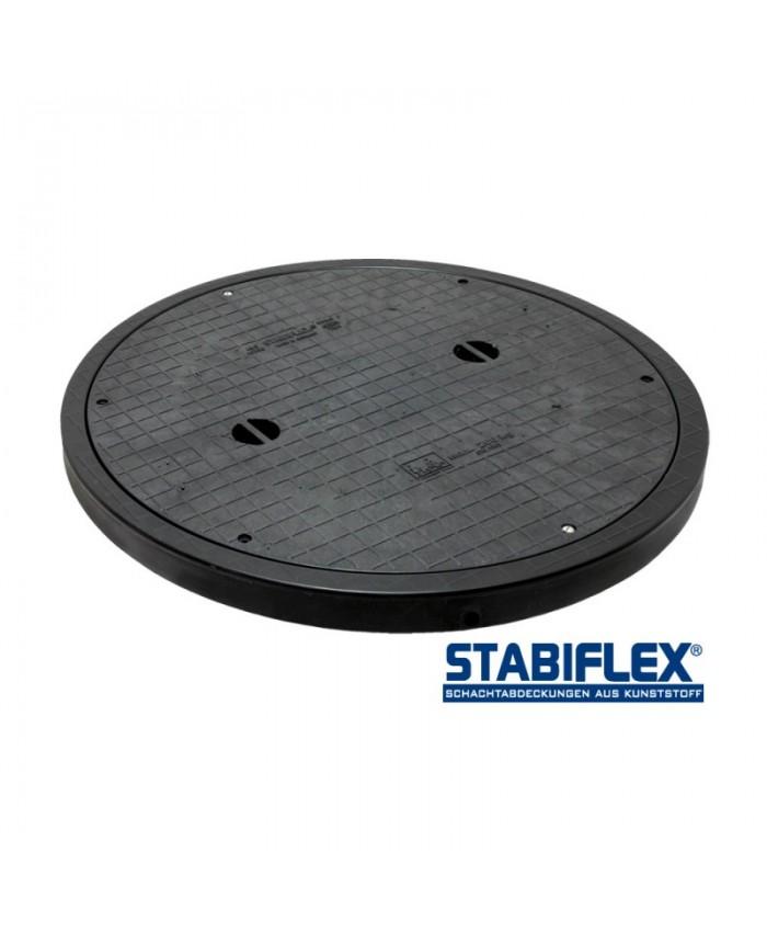 Schachtabdeckung Stabiflex BASIC XXL DN800/DN1000 – mit Blockrahmen