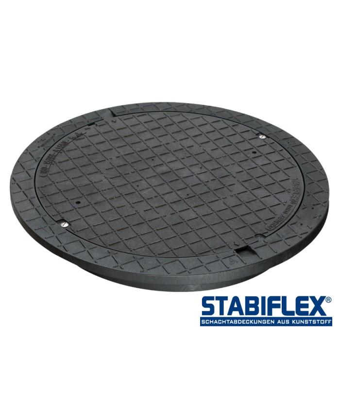 Schachtabdeckung Stabiflex NewEdition ohne Griffmulden