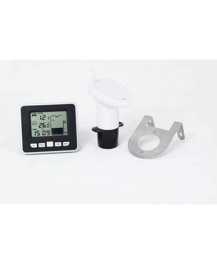 Ultraschall Füllstandsanzeige LCD Temperaturanzeige für Tanks Regenwassertank DE